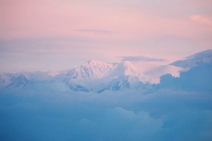 Kanchenjunga at Dawn, Darjeeling