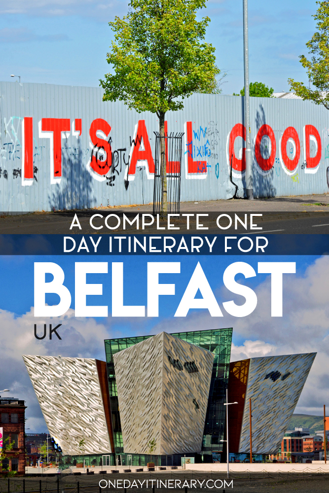 A complete one day itinerary for Belfast, UK