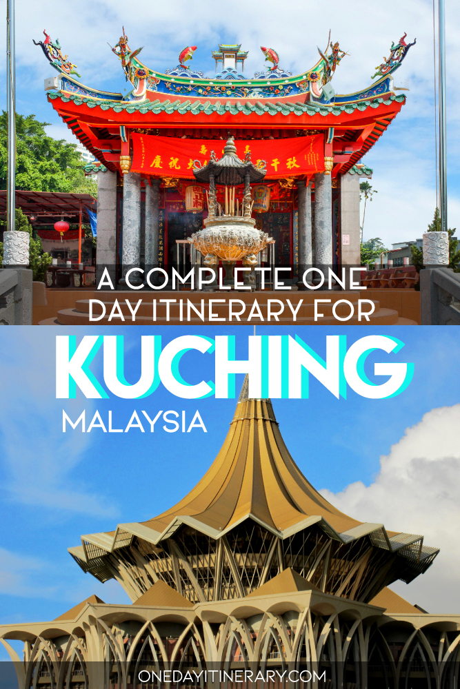 A complete one day itinerary for Kuching, Malaysia