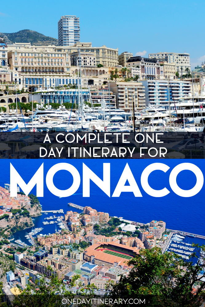 A complete one day itinerary for Monaco