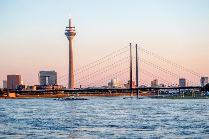 Evening in Dusseldorf