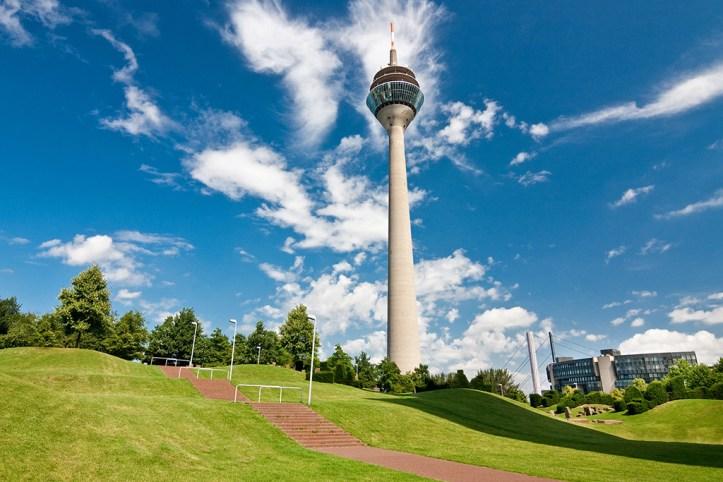 Rhine Tower, Dusseldorf