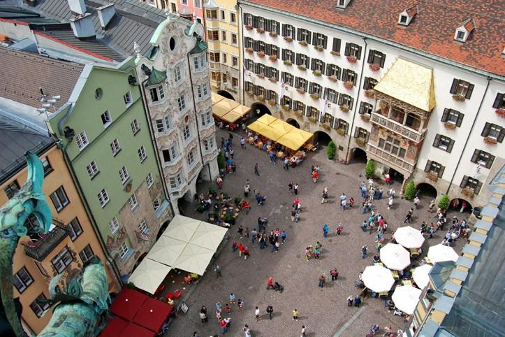 The City Tower View, Innsbruck