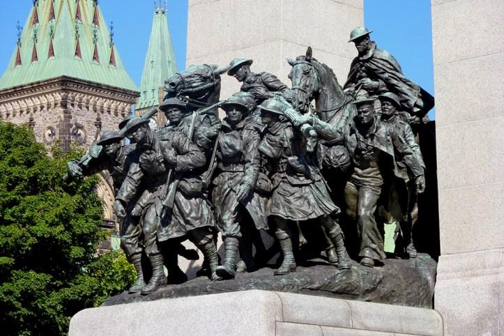 The National War Memorial, Ottawa