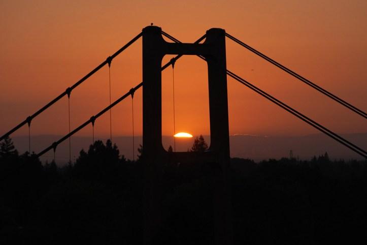 Tower Bridge at Sunset, Sacramento