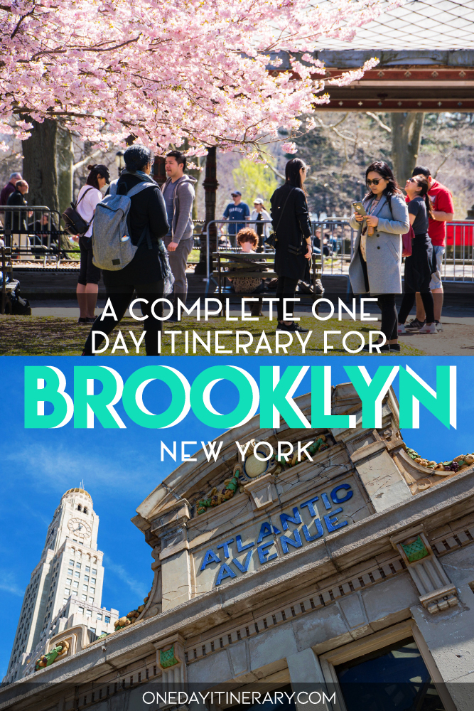 A complete one day itinerary for Brooklyn, New York