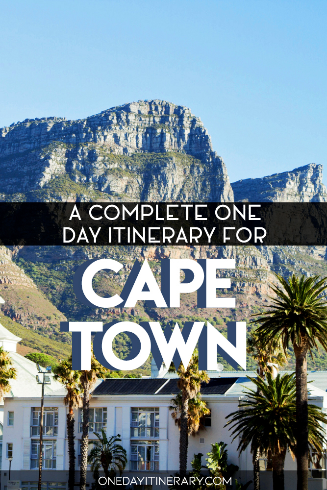A complete one day itinerary for Cape Town