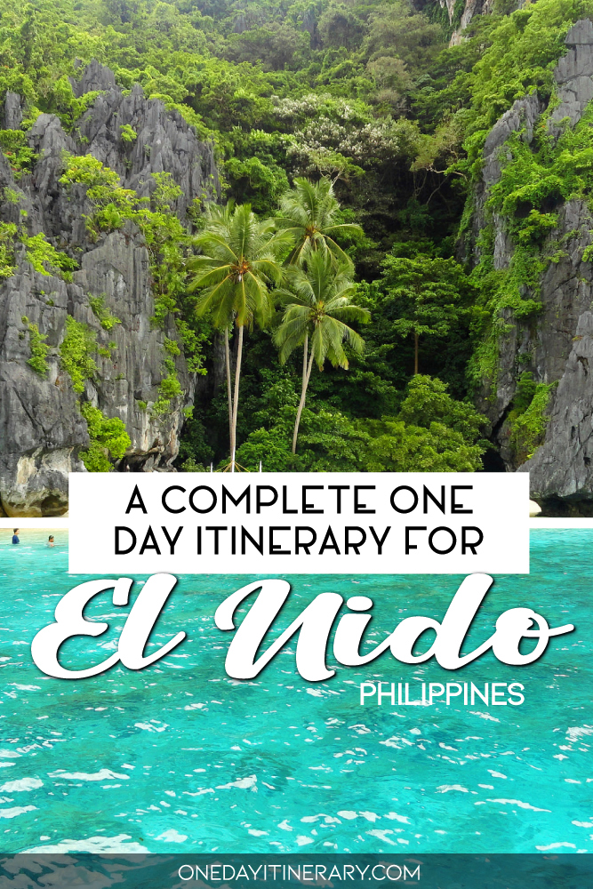 A complete one day itinerary for El Nido, Philippines