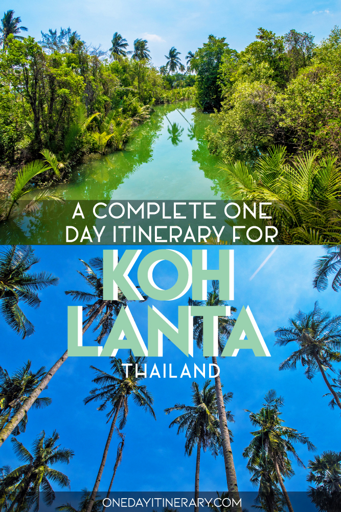 A complete one day itinerary for Koh Lanta, Thailand