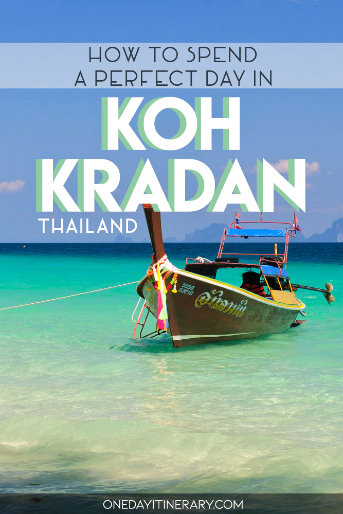 How to spend a perfect day in Koh Kradan, Thailand