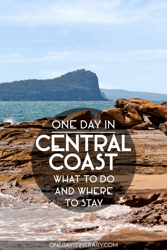 One day in Central Coast - What to do and where to stay