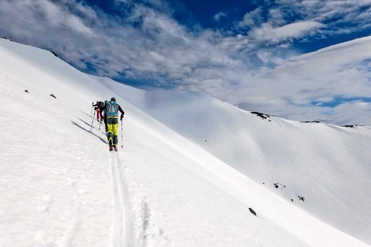 Skiing in Akureyri