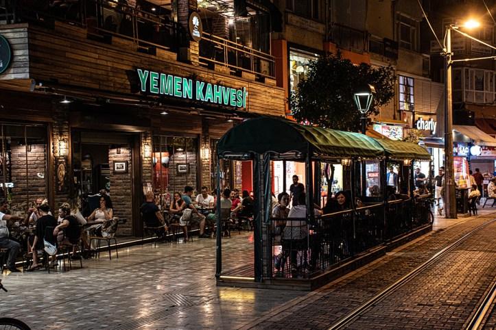Antalya at night