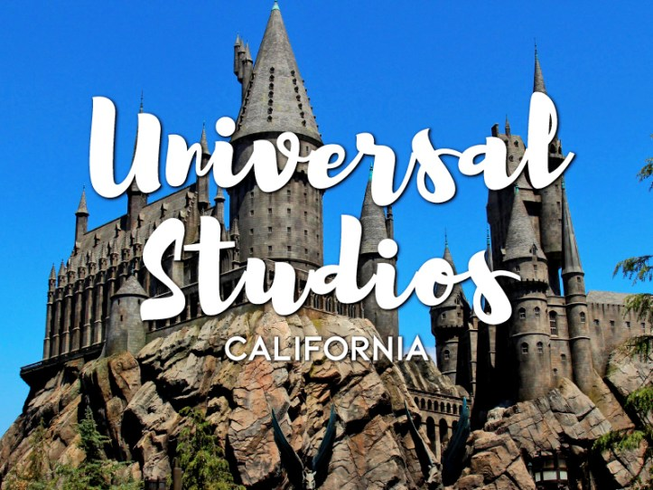 One day in Universal Studios Hollywood