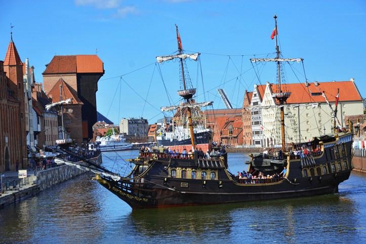 Tall Ship River Cruise, Gdansk