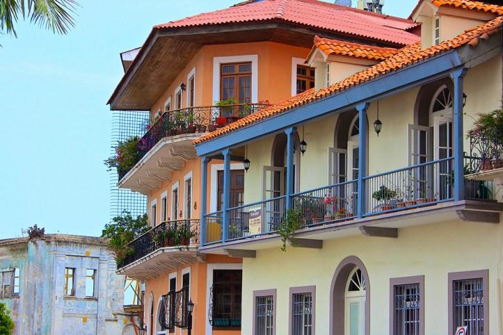 Casco Viejo Architecture, Panama City