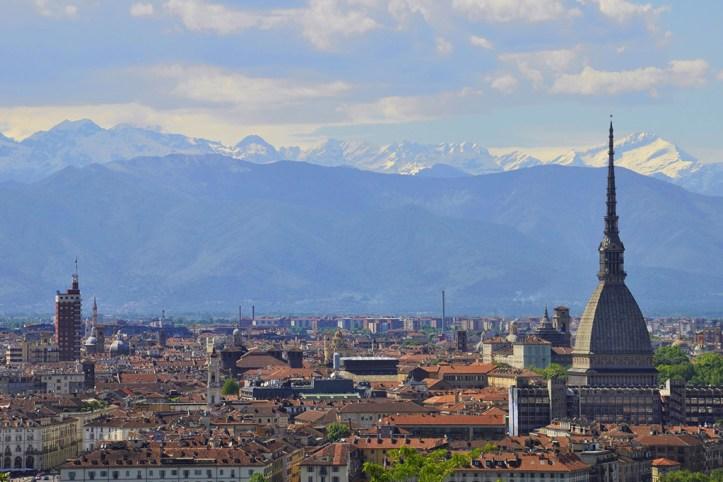Monte dei Cappuccini View, Turin