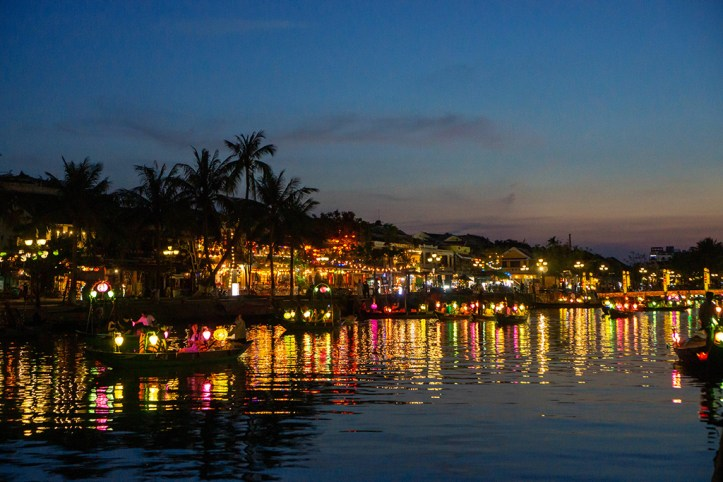Lanterns at Thu Bon River, Hoi An