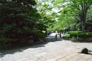 山崎公園プール前の広場