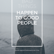 "Why do ""bad"" things happen to good people?"