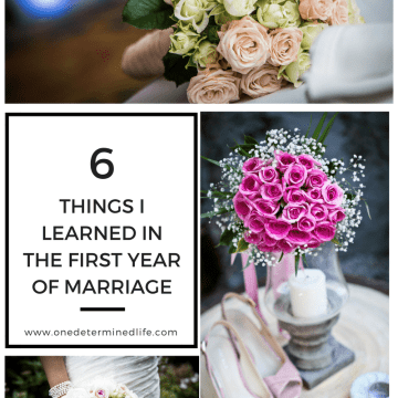 Lessons learned in the first year of marriage