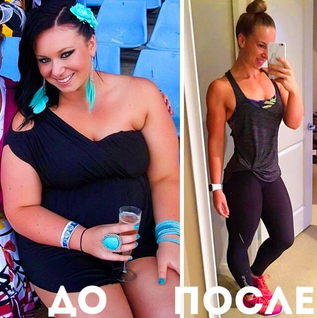 реальное похудение неделю