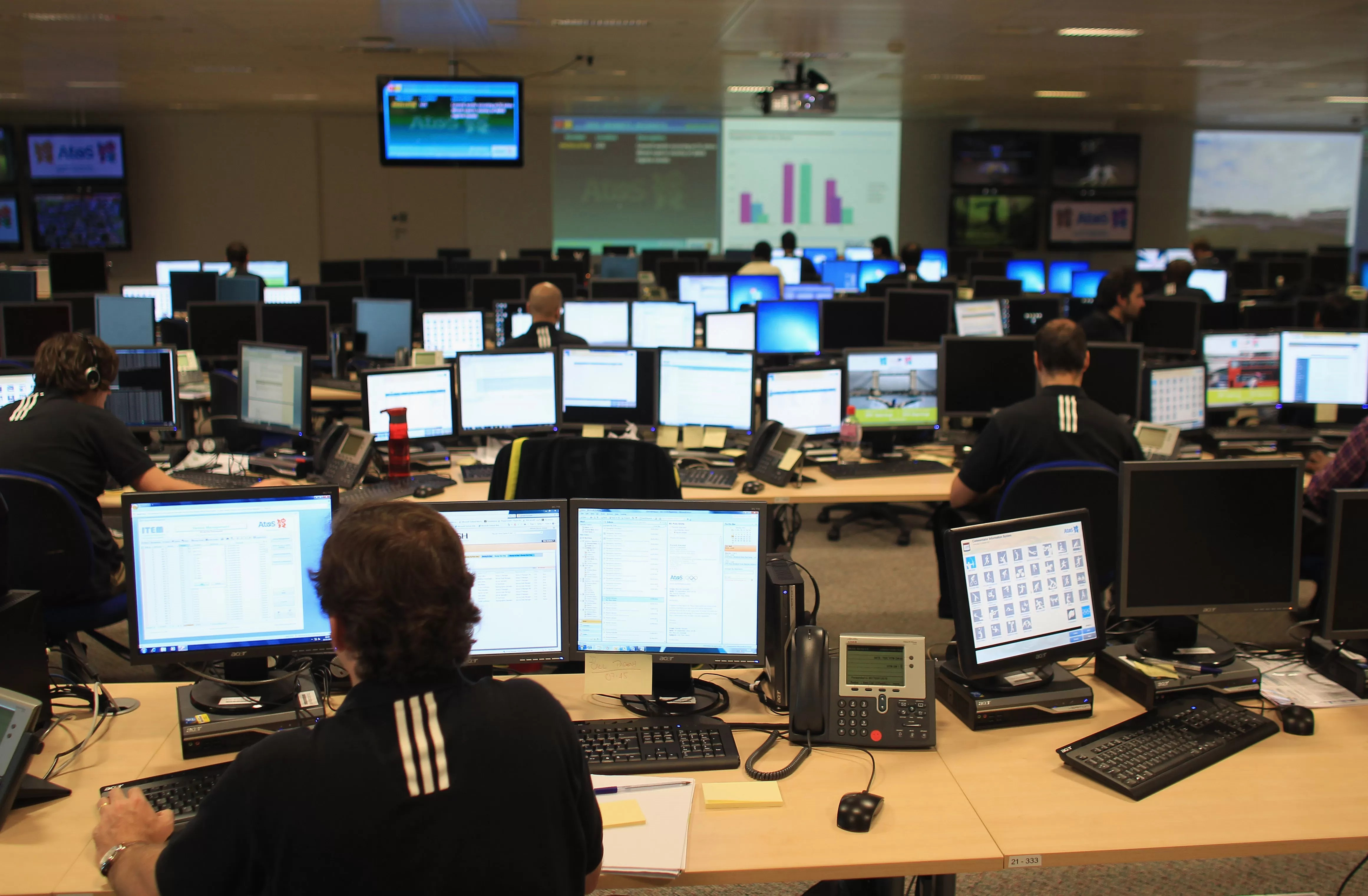 Atos unveils London 2012 Technology Operations Centre