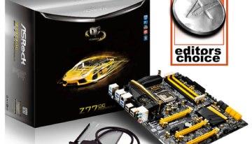 La Z77 OC Formula de ASRock sigue siendo la elegida de los expertos