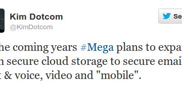Mega permite pago con Bitcoin y ofrecerá email, chat, voz, vídeo y móvil