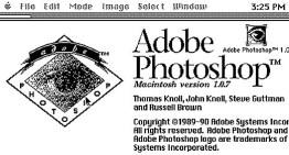 Adobe hace publico el código fuente de Photoshop versión 1.0