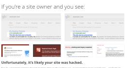 Google enseña a como recuperar un sitio que ha sido hackeado