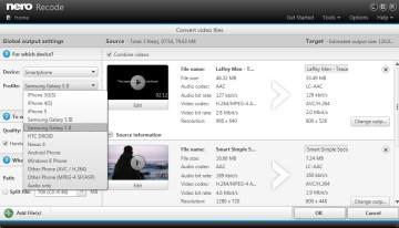 Nero 12.5, nuevo software multimedia con mejoras para las capacidades de edición y conversión de vídeo