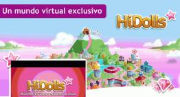 HiDolls, el mundo virtual exclusivo para niñas