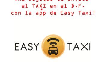Te invitamos el Taxi en nuestro aniversario #ONE7
