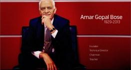 Falleció Amar G. Bose, el creador de los bocinas y audífonos Bose