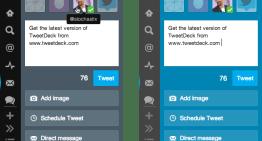 TweetDeck se renueva
