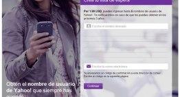 Yahoo! inició el proceso de liberación de nombres de usuario inactivos