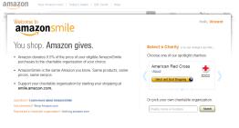 Amazon Smile, programa de donaciones a organizaciones benéficas por la compra de productos