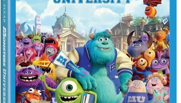 MONSTERS UNIVERSITY, la precuela de Disney•Pixar en DVD, Blu Ray y Blu Ray 3D