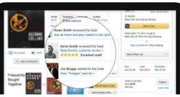 Amazon usará Facebook para mejorar la experiencia social de compras de sus usuarios