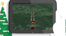 Ya pueden seguir a Santa en su recorrido alrededor del mundo con las apps de Microsoft-Norad y Google