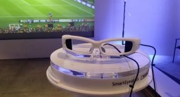 Sony presentó los Smart Eyeglass #CES2014