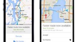 Google Maps nos avisará con alertas cuando exista una ruta más rápida