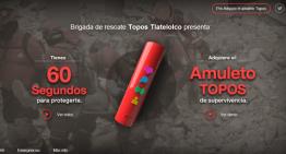 La brigada de rescate Topos desarrolla un dispositivo tecnológico de supervivencia ante catástrofes naturales.