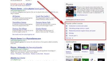 Cursos de Khan Academy y libros para descargar gratis ya se puden encontrar a través de Bing