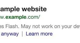 Google ahora informa al usuario cuando una página no se cargará bien en su dispositivo