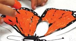 Niños y Adolescentes exponen 30 obras plásticas sobre la mariposa Monarca en el Museo Soumaya