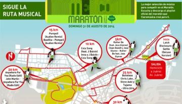 Telcel celebra la ecología con los 20 mil corredores del Maratón Internacional de la Ciudad de México