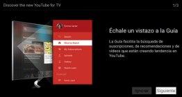 Youtube para TV mejora la experiencia del usuario