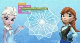 Los personajes Elsa y Anna de Frozen invitan a las niñas a programar